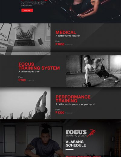 Focus Athletics Alabang